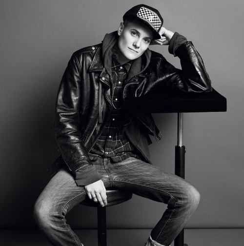 THIS IS CASEY LEGLER, WHO YOU'RE ABOUT TO MEET