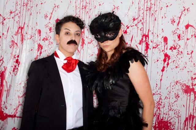 Edgar Allan Poe and the Raven