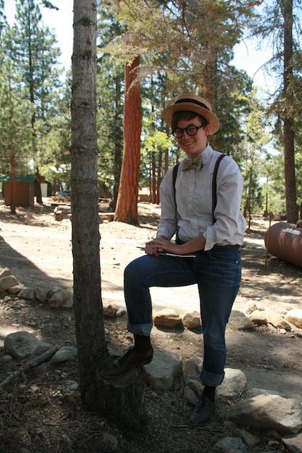 Jill/Gilles, 23, at A-Camp 3.0, May 2013