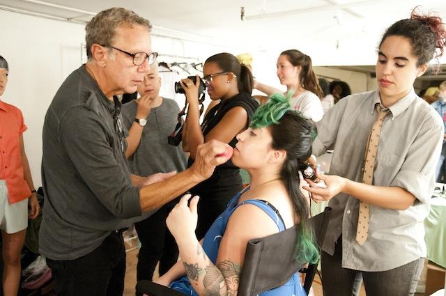 Creative Director Ivette Gonzalez-Ale and Lead Makeup Artist Karlo Karlo Copyright Joy Mahoney