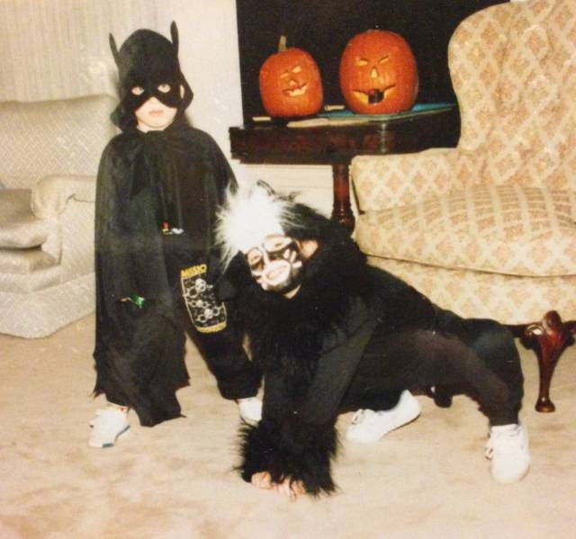 Family Photo Album: Childhood Halloween Costumes, Thematically