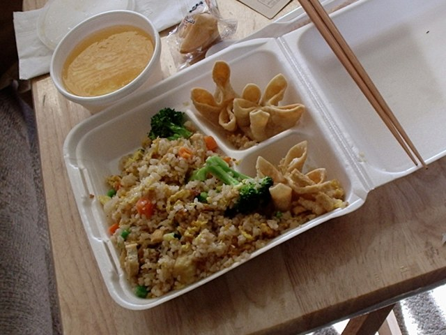I'd probably get takeout more if I got those cardboard boxes instead via Suzy Can't Cook