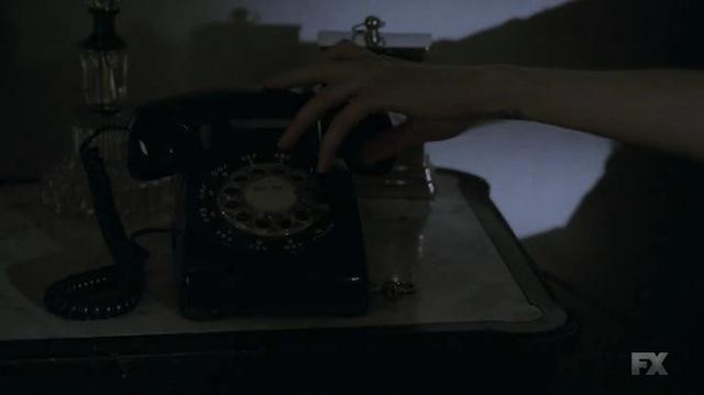 A rotary phone? Really?