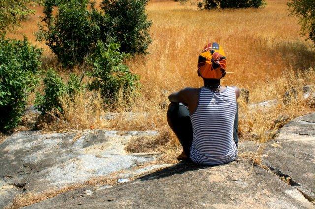 Abby in Ghana
