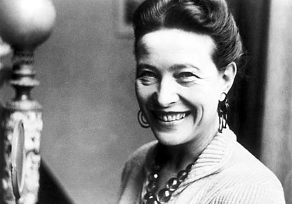 imone de Beauvoir, what a bamf, posthumously still winning arguments about sexism. Via philosophy.uoregon.edu