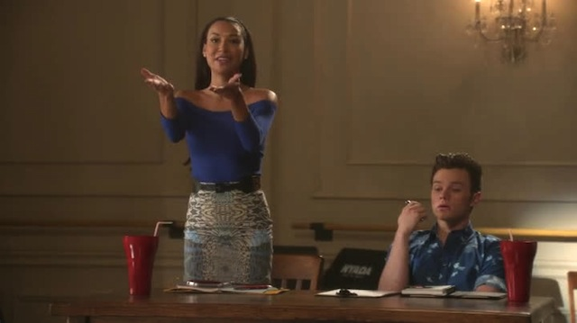 c'mere and let santana squeeze your little cheecks