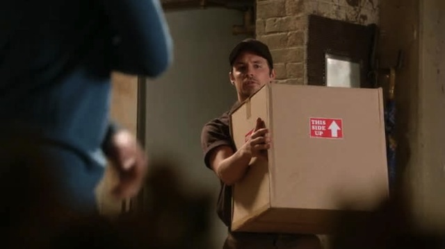 """Uh, I got a sex swing here, name on the package is """"Santana Lopez""""?"""