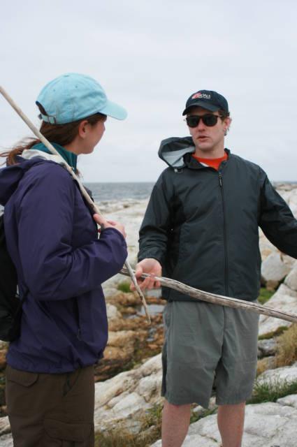 The best part about environmental science work: summer field work. Joe at her graduate research field site, 2012 (via josephlsimonis.com)