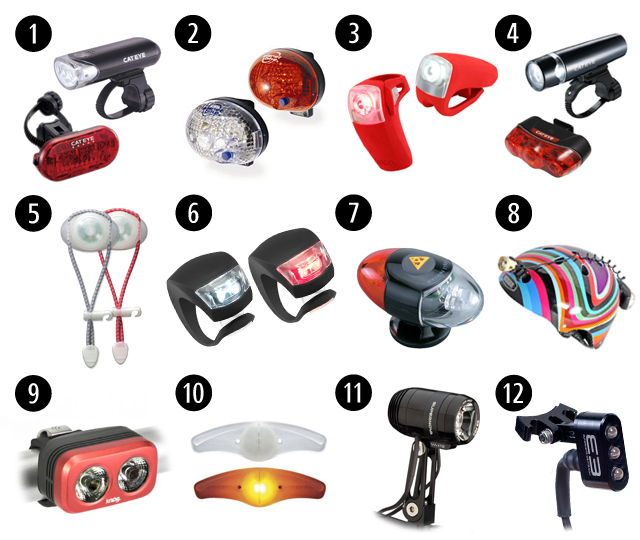 Clip On Bicycle Lights Bicycle Modifications