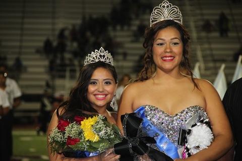 homecomin queens Eileen Hernandez and her straight bestie Jennifer Mijares via newnownext