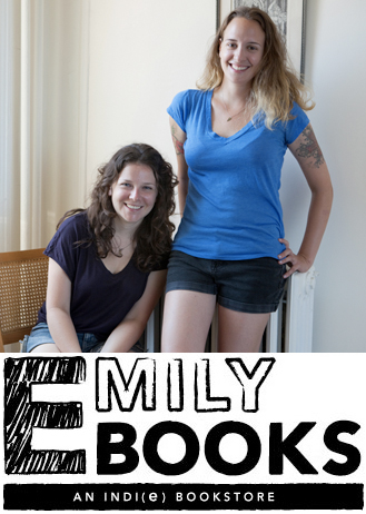 Ruth and Emily in October 2011, right after they started Emily Books via The Hairpin