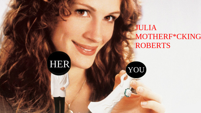 This means YOU, Julia. Via