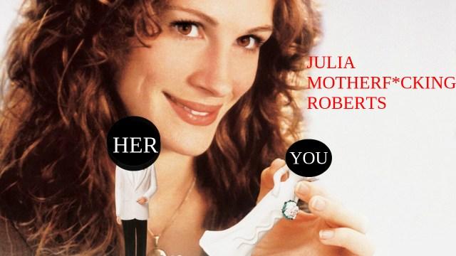 This means YOU, Julia. Via