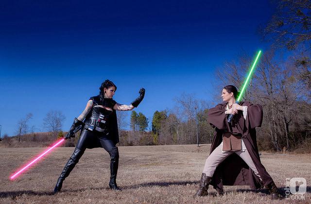 light-saber-fight