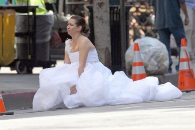 Maya Rudolph trying to be as dirty as the guys in Bridesmaids