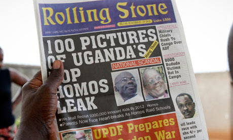 """100 Pictures of Uganda's Top Homos Leak"" via The Guardian"