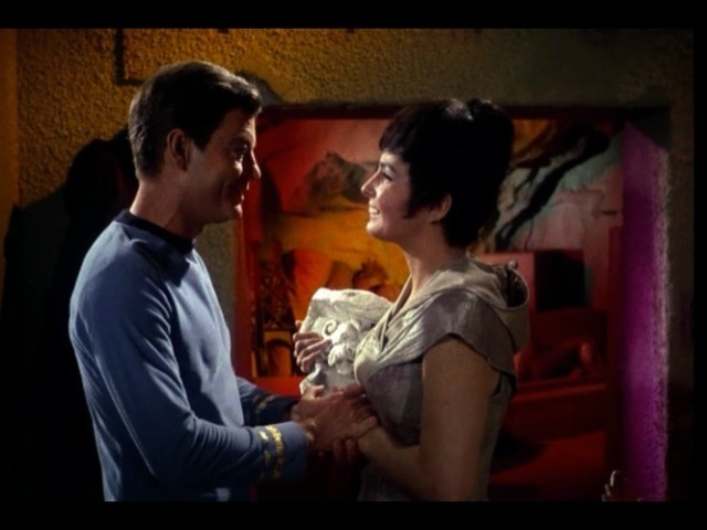 Dr. McCoy: Why honey, you haven't aged a day!