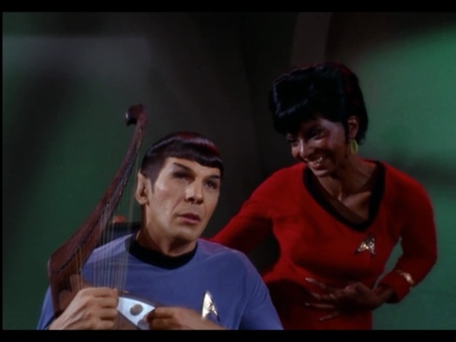 """""""Oooh, Spock! You're so dreamy! I like the way your face doesn't move or emote ever!"""""""