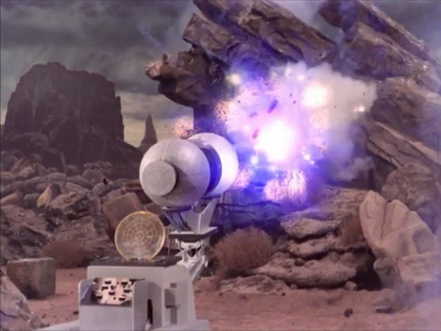 If a small laser doesn't work, just blast it with a giant one!