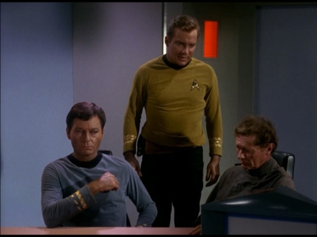 Dr. Crater confesses his love for Imposter McCoy