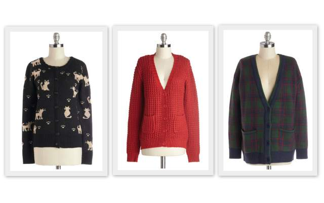 Holigay 2013 Gift Guide: When In Doubt, Cardigan