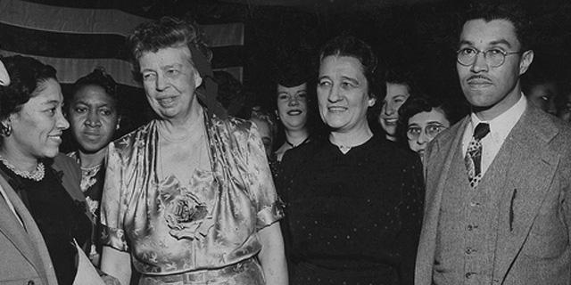 Eleanor Roosevelt and Lorena Hickok