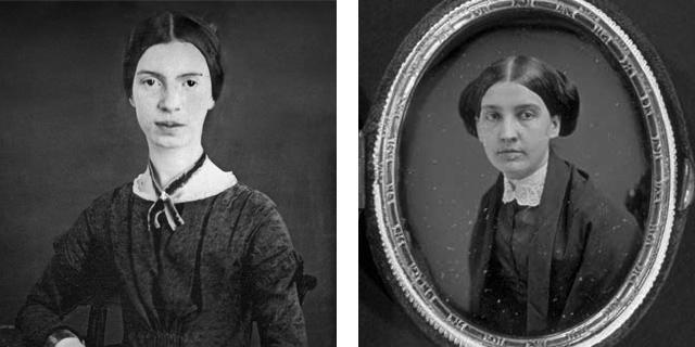 Emily Dickenson and Susan Huntington Gilbert Dickinson