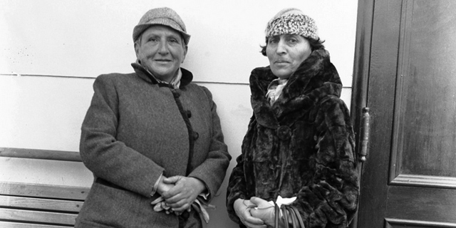 Gertrude Stein and Alice B Toklas