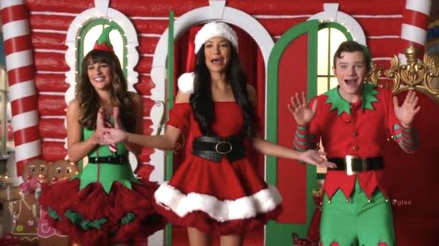 It's a magical lesbian Santa Claus!