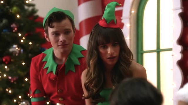 santana this isnt a camp you cant just talk about - Glee Previously Unaired Christmas