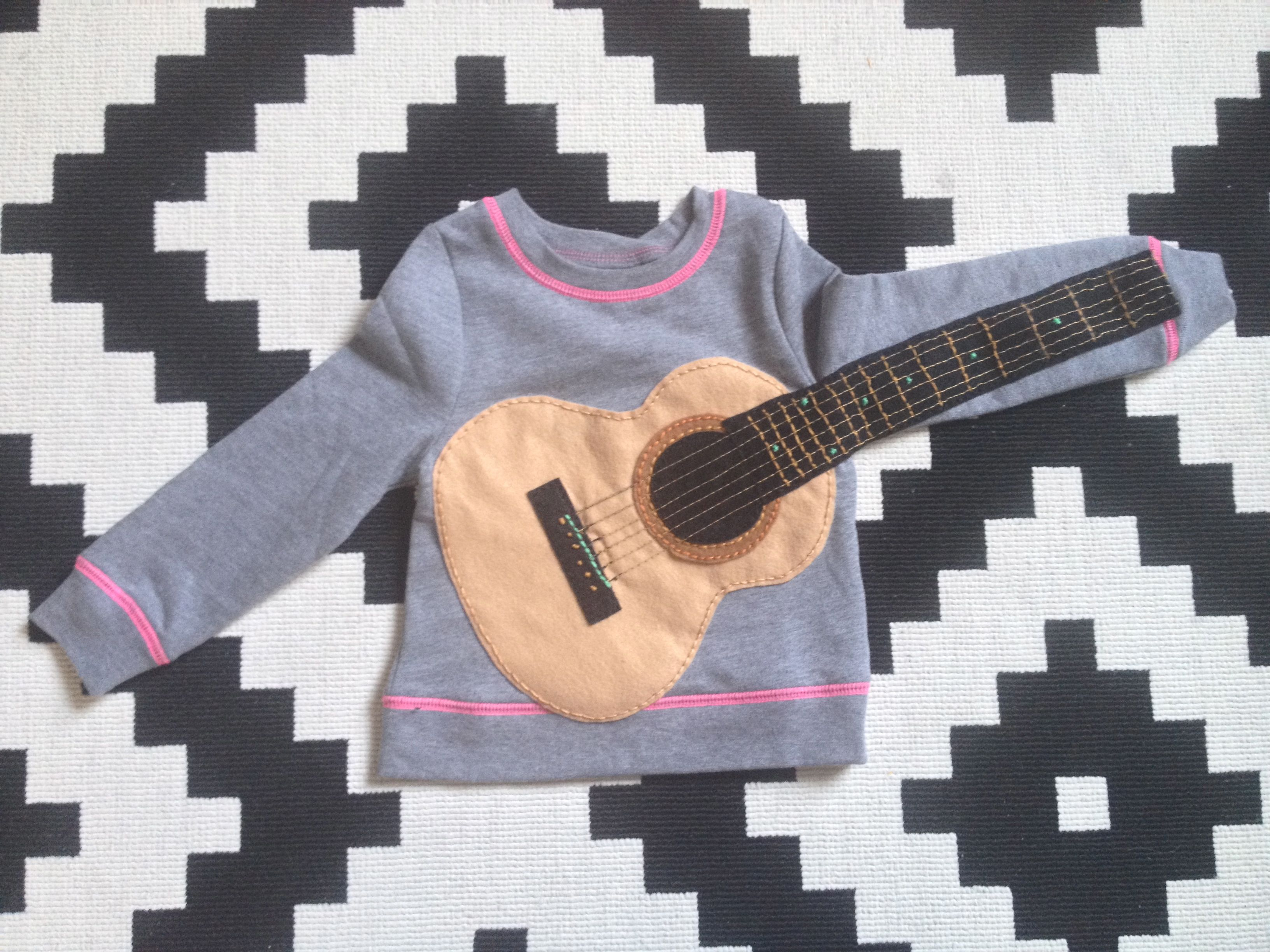 Homespun Love: Sew a Wearable Guitar