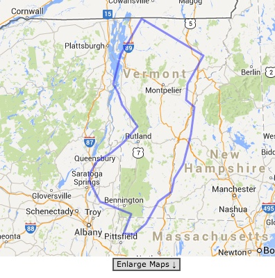 Things I learned on MapFrappe: New Jersey is the same size as Vermont.