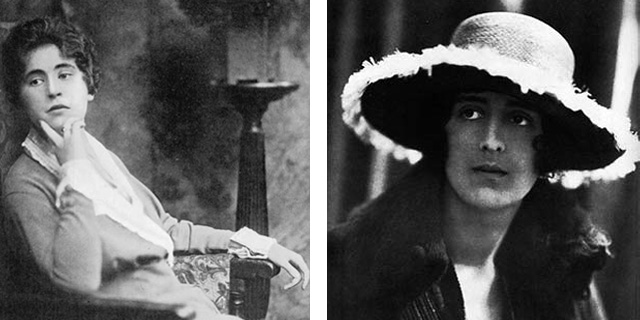 Violet Trefusis and Vita Sackville-West