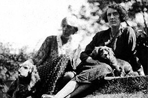 Virginia Woolf and Vita Sackville-West