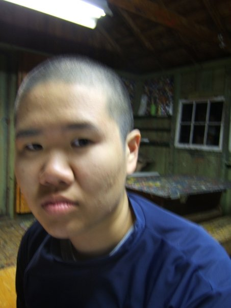 Taken in 2008, immediately after I shaved my head.