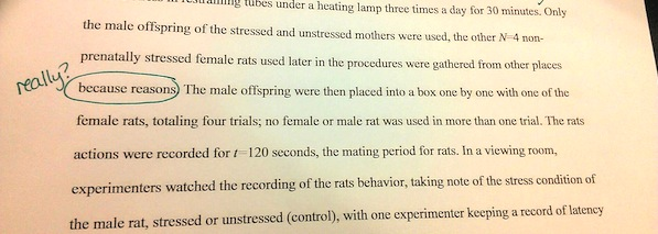100% REAL EXCERPT FROM A PAPER MY SISTER GRADED THIS WEEKEND