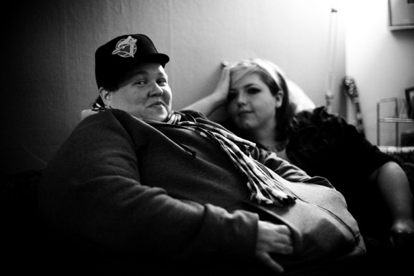 This is me and my sweetie Luscious in 2009. Our relationship was incredibly meaningful to me but I had a really hard time because I put a lot of pressure on it to be a forever thing instead of just relaxing and letting it just be. She passed away a little over a year after we dated (Photo credit Tanja Tiziana)