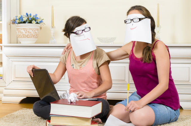 Have you and your friends hit this part of finals yet? via shutterstock.com