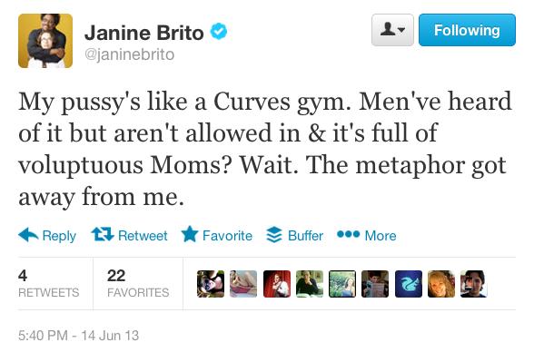 curves tweet