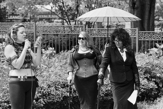 Terri-Jean Bedford (far right) at a National Day of Action in Ottawa, 2013 flickr, credit Ryan