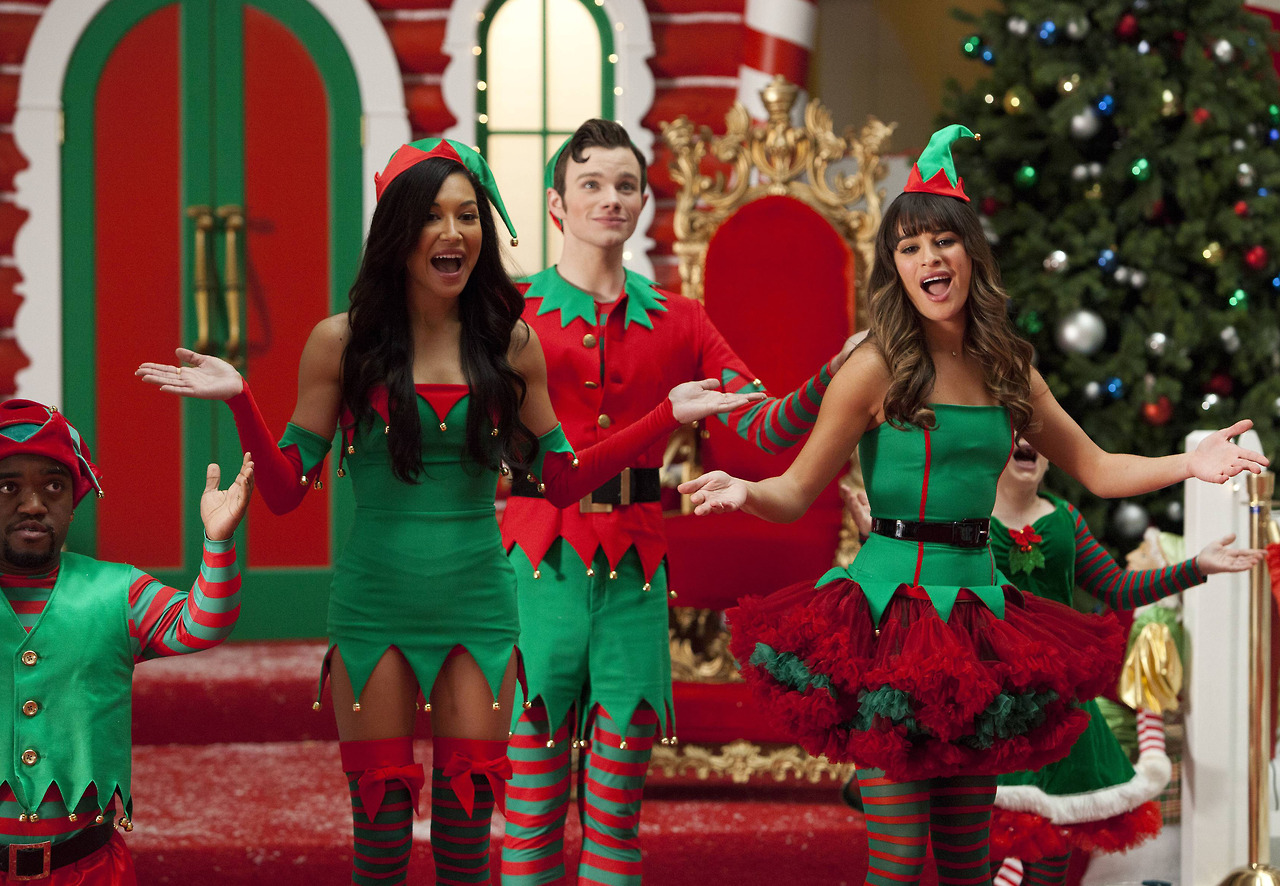 glee episode 508 recap previously unaired christmas gets a little too much air autostraddle - Last Christmas Glee