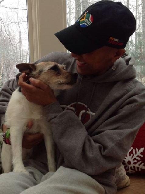 roberts and dog