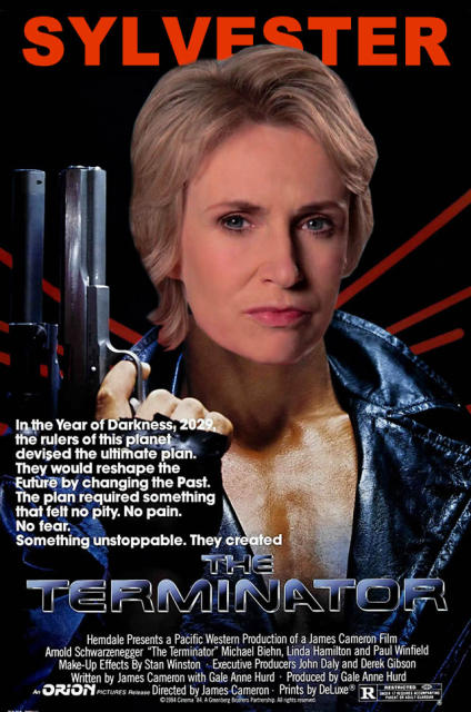 this is the only time travel movie jane lynch needs to show us