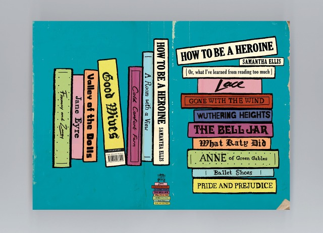 via vintage book design