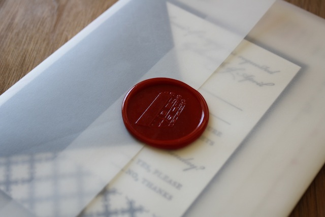 Love letters sealed with wax are a great way of telling someone you appreciate their pheromones. Via PaperMonkeyPress