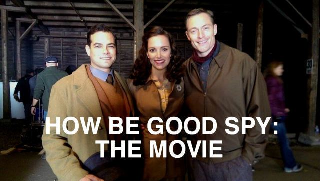 this how be good spy: the film event