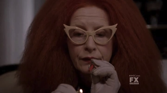 "'Twas I, Myrtle Snow, who coined the now classic turn of phrase ""puff, puff, pass!"""