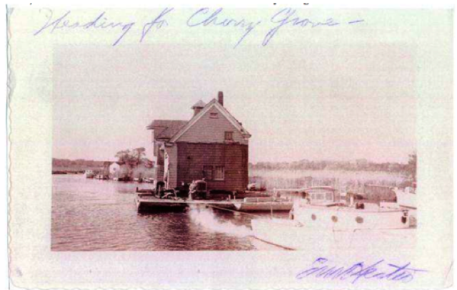 fun fact: Cherry Grove Community House was literally floated across Great South Bay on a barge to serve the up-and-coming town, in 1946. The theater was added three years later