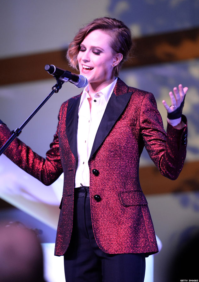 evan rachel wood bisexual sings in LA