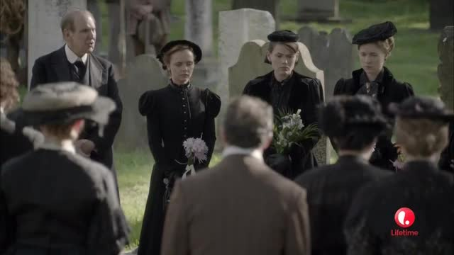 Jaunty funeral hats!
